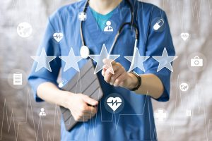 physician review graphic