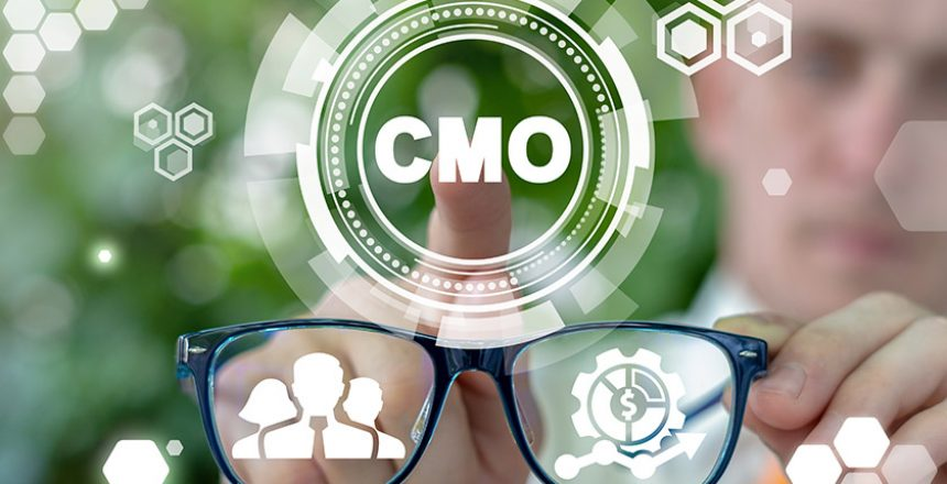 CMO Chief Marketing Officer Business Concept.