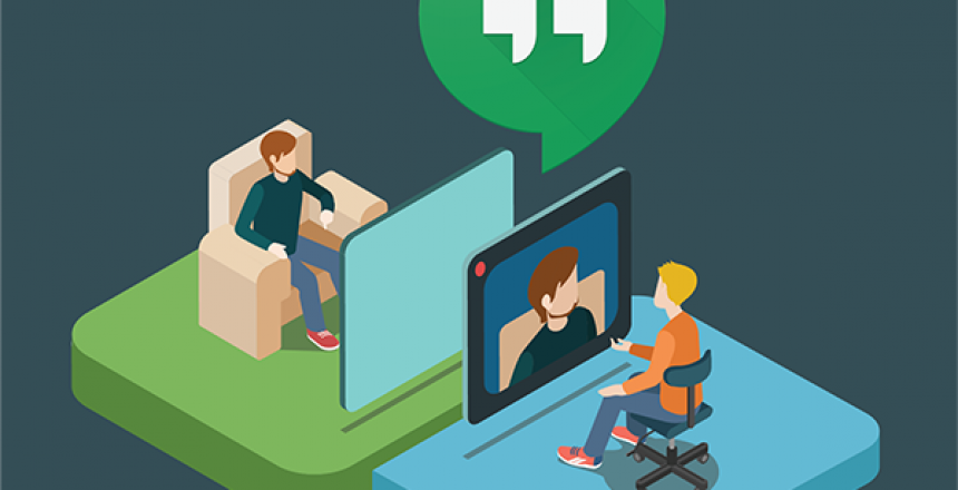 video conference graphic
